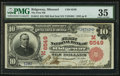 National Bank Notes:Missouri, Ridgeway, MO - $10 1902 Red Seal Fr. 613 The First NB Ch. #(M)6549. ...