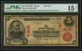 National Bank Notes:Texas, Fort Worth, TX - $5 1902 Red Seal Fr. 587 The Fort Worth NB Ch. # (S)3131. ...