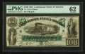 Confederate Notes:1861 Issues, T5 $100 1861 PF-1 Cr. 5.. ...