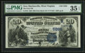 National Bank Notes:West Virginia, New Martinsville, WV - $20 1882 Date Back Fr. 555 The First NB Ch.# (S)5266. ...