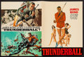 "Movie Posters:James Bond, Thunderball (United Artists, 1965). Program (32 Pages, 12"" X 19""). James Bond.. ..."