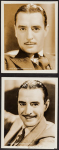 """Movie Posters:Miscellaneous, John Gilbert Lot (MGM, 1920s-1930s). Portrait Photos (2) (8"""" X 10""""). Miscellaneous.. ... (Total: 2 Items)"""