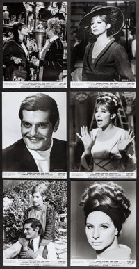 "Funny Girl (Columbia, 1968). Photos (71) (Approx 8.25"" X 9.25"" & 7.75"" X 10""). Musical..."