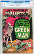 Silver Age (1956-1969):Horror, This Magazine Is Haunted V2#14 (Charlton, 1957) CGC FN 6.0 Lighttan to off-white pages....