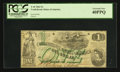 Confederate Notes:1862 Issues, T45 $1 1862 PF-1 Cr 342A.. ...