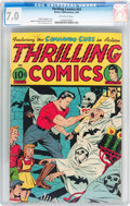 Golden Age (1938-1955):Superhero, Thrilling Comics #52 (Better Publications, 1946) CGC FN/VF 7.0 Off-white pages....