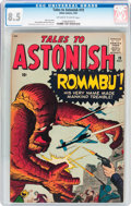 Silver Age (1956-1969):Horror, Tales to Astonish #19 (Marvel, 1961) CGC VF+ 8.5 Off-white to whitepages....
