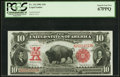Large Size:Legal Tender Notes, Fr. 114 $10 1901 Legal Tender PCGS Superb Gem New 67PPQ.. ...