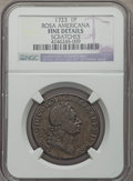 1723 PENNY Rosa Americana Penny -- Scratches -- NGC Details. Fine. ...(PCGS# 125)