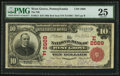 National Bank Notes:Pennsylvania, West Grove, PA - $10 1902 Red Seal Fr. 613 The NB of West Grove Ch.# (E)2669. ...