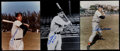 Baseball Collectibles:Photos, Doerr, Williams and DiMaggio Signed Photographs Lot of 3....