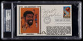 Basketball Collectibles:Others, Wilt Chamberlain Signed First Day Cover....