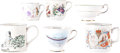 Miscellaneous:Ephemera, Group of Six Victorian Souvenir Cups, including: Three ceramicmugs, one of Prince Albert and two commemorating the coro...(Total: 6 Items)