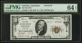 National Bank Notes:Arkansas, Conway, AR - $10 1929 Ty. 2 The First NB Ch. # 13719. ...