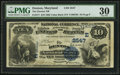National Bank Notes:Maryland, Denton, MD - $10 1882 Value Back Fr. 577 The Denton NB Ch. #(E)2547. ...