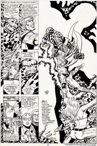 George Perez and Gene Day Marvel Two-In-One #58 Page 27 Original Art (Marvel, 1979)