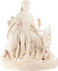 Miscellaneous:Ephemera, Sir Joseph Edgar Boehm. Queen Victoria and Sharp. Cast wax.1851.. ...