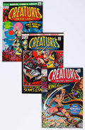 Bronze Age (1970-1979):Horror, Creatures on the Loose #10 and 16-21 Group (Marvel, 1971-73)Condition: Average VF+.... (Total: 7 Comic Books)