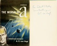 A. E. van Vogt. INSCRIBED. The World of A. New York: Simon and Schuster, 1948
