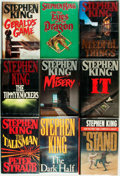 Books:Horror & Supernatural, Stephen King. Group of Nine Titles. Various publishers and dates.... (Total: 9 Items)
