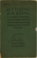 Books:Art & Architecture, [Typography]. Percy J. Smith. Lettering & Writing. London: B.T. Batsford, [1908]....