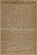 Books:Periodicals, [Newspapers, Boston]. Independent Chronicle, Vol. XLII, No.3,134. May 2, 1811. Boston: Printed by Adams, Rhoade...