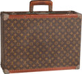 "Luxury Accessories:Travel/Trunks, Louis Vuitton Classic Monogram Canvas Alzer 50 Hardsided Trunk .Good Condition . 20"" Width x 14.5"" Height x 6.5""Dept..."