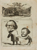 Books:Periodicals, [Illustrated Periodicals]. The Phunny Phellow, Vol. 6, No.10. September, 1866....