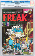 Bronze Age (1970-1979):Alternative/Underground, The Fabulous Furry Freak Brothers #1 First Printing (Rip Off Press, 1971) CGC VF/NM 9.0 Off-white pages....