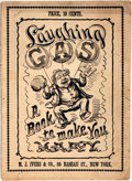 Books:Art & Architecture, [Cartoons, Humor]. Laughing Gas. A Book to Make You Happy. New York: M.J. Ivers & Co., [n.d., Circa 1874]....