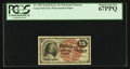 Fractional Currency:Fourth Issue, Fr. 1267 15¢ Fourth Issue PCGS Superb Gem New 67PPQ.. ...