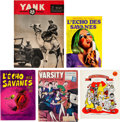 Magazines:Miscellaneous, Harvey Kurtzman Magazine and Comic Mixed Group of 5 (1940s-70s)....(Total: 5 Items)