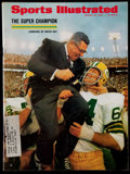 Football Collectibles:Publications, 1968 Vince Lombardi and the Green Bay Packers SB II Sports Illustrated Magazine. ...