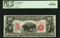 Large Size:Legal Tender Notes, Fr. 114 $10 1901 Legal Tender PCGS Gem New 65PPQ.. ...