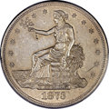 Trade Dollars, 1873-CC T$1 AU55 PCGS Secure....