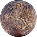 Seated Dollars, 1850 $1 MS62 PCGS Secure....