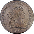 Early Dollars, 1800 $1 Wide Date, Low 8, B-10, BB-190, R.3, XF45 PCGS Secure....