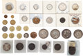 Miscellaneous:Ephemera, Substantial collection of British coins and tokens; variety ofdenominations, late 19th to early 20th century.. ...