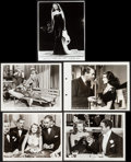 "Movie Posters:Film Noir, Gilda & Others Lot (Columbia, 1946, R-1959). Photos (2),Trimmed Photo (8"" X 10""), Key Book Photo (8"" X 11""), & TrimmedReis... (Total: 5 Items)"