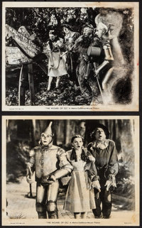 """The Wizard of Oz (MGM, 1939). Photos (2) (8"""" X 10""""). Fantasy. ... (Total: 2 Items)"""