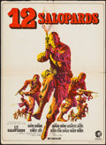 "Movie Posters:War, The Dirty Dozen (MGM, 1967). French Affiche (23.25"" X 31.5""). War....."