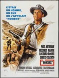 "Movie Posters:Western, Hombre (20th Century Fox, 1967). French Grande (47"" X 63"").Western.. ..."