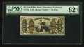 Fractional Currency:Third Issue, Fr. 1360 50¢ Third Issue Justice PMG Uncirculated 62 EPQ.. ...