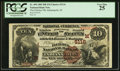 National Bank Notes:Indiana, Indianapolis, IN - $10 1882 Brown Back Fr. 490 The Fletcher NB Ch. # (M)5116. ...