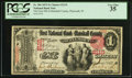 Plymouth, IN - $1 1875 Fr. 384 The First NB of Marshall County Ch. # 2119