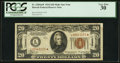 Small Size:World War II Emergency Notes, Fr. 2304* $20 1934 Hawaii Federal Reserve Note. PCGS Very Fine 30.....