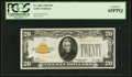Small Size:Gold Certificates, Fr. 2402 $20 1928 Gold Certificate. PCGS Gem New 65PPQ.. ...