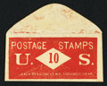 Miscellaneous:Other, J. Leach 86 Nassau St N.Y. Stationary 10 (Cents). PE385. AboutNew.. ...