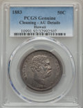 Coins of Hawaii , 1883 50C Hawaii Half Dollar -- Cleaning -- PCGS Genuine. AUDetails. NGC Census: (30/332). PCGS Population (65/420). Mi...
