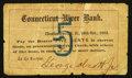 Obsoletes By State:New Hampshire, Charlestown, NH- George Abcott, Jr. at Connecticut River Bank 5¢ Oct. 18, 1862. ...